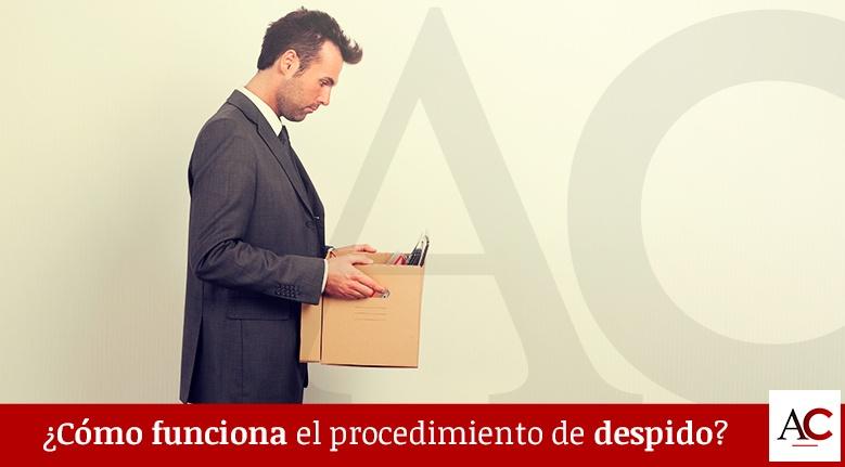 ¿Cómo funciona el procedimiento de despido?
